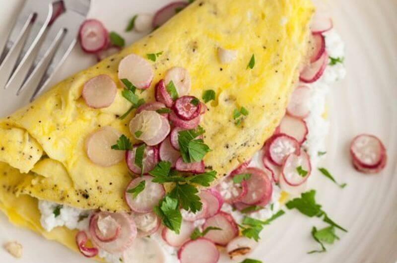 ricotta omelet recipe