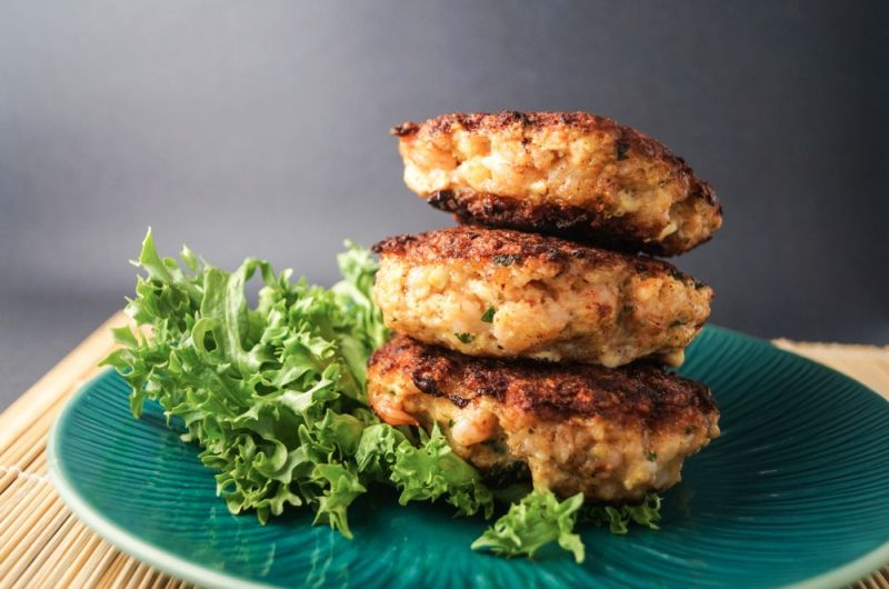 shrimp burger recipe