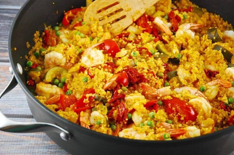 shrimp paella recipe