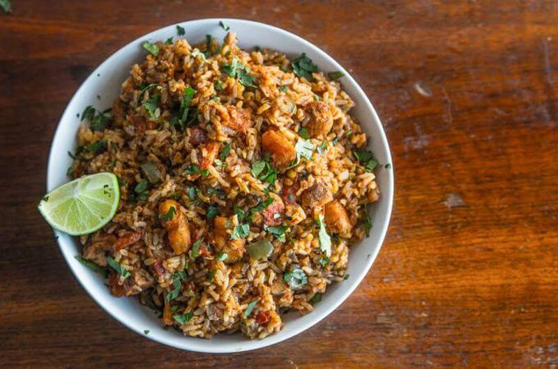 shrimp spanish rice recipe