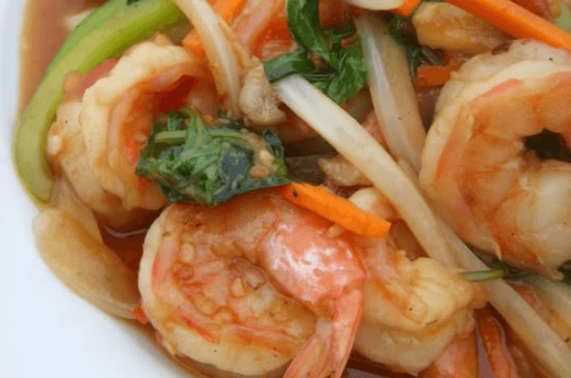 shrimp stir fry recipe