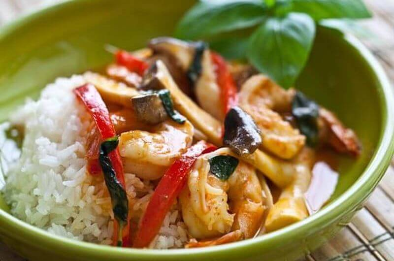 shrimp thai curry recipe