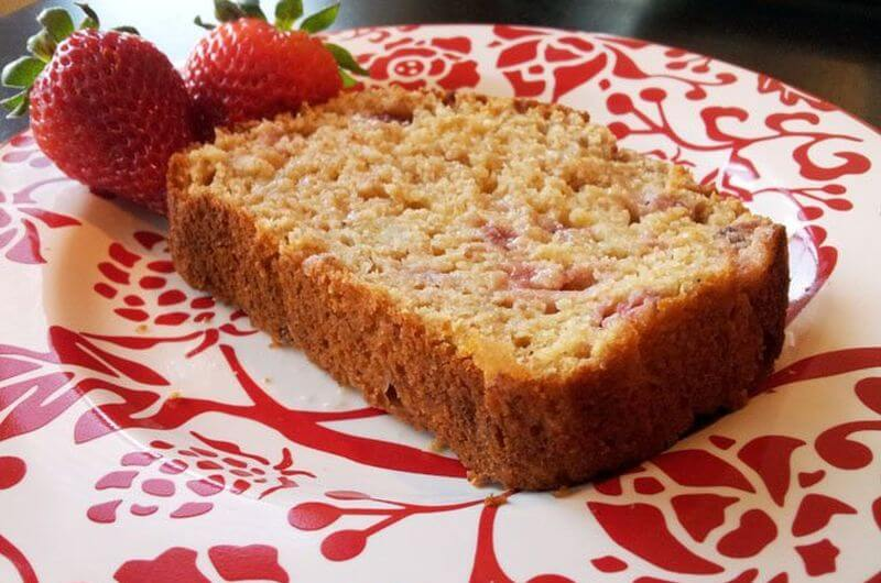 strawberry banana bread recipe