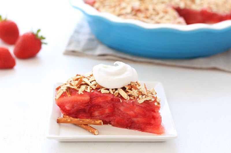 strawberry pretzel pie recipe