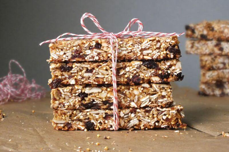 superfood granola bar recipe