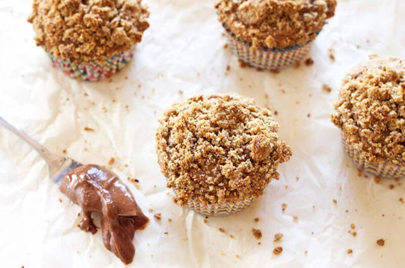 Hazelnut Coffee Muffins recipe
