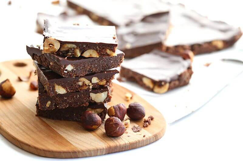 No Bake Nutella Energy Bars recipe