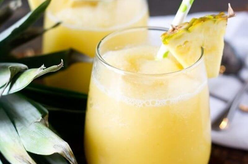 Pineapple Cream Tropical Smoothie recipe