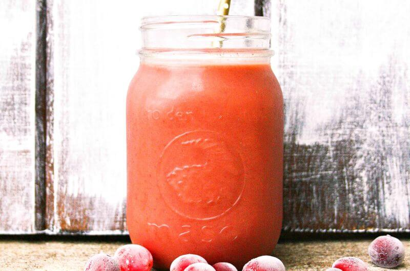 coconut cranberry smoothie recipe