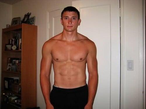 no upper chest