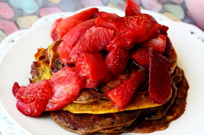 nutella pancakes recipe