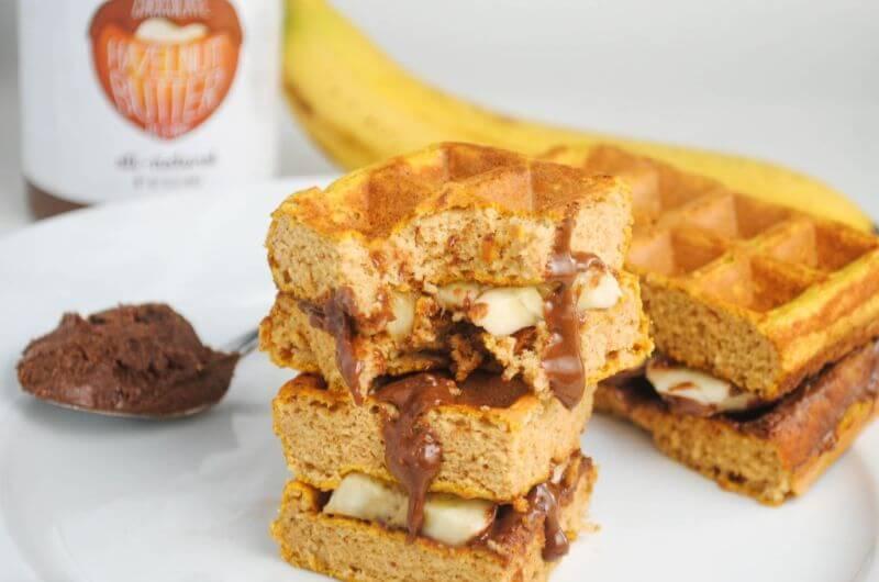 nutella waffles recipe
