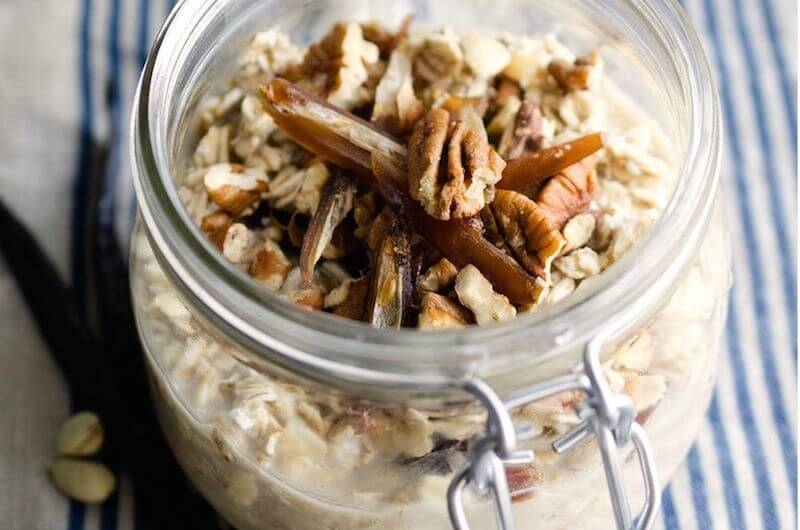vanilla overnight oats recipe
