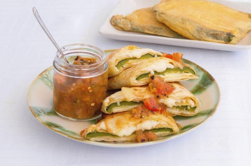 Chile Quesadilla recipe