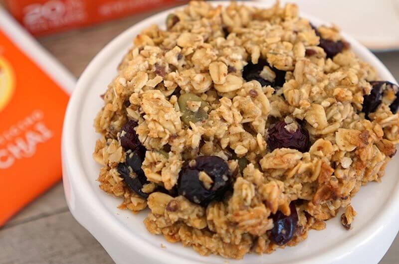 Vanilla Chai Breakfast Cookies low cal snack