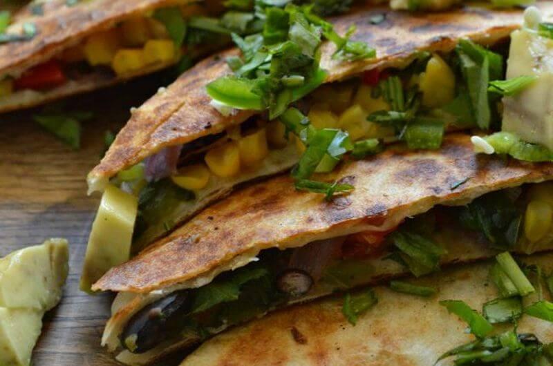 Veggie Quesadillas recipe