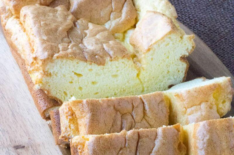 cloud bread loaf low carb recipe