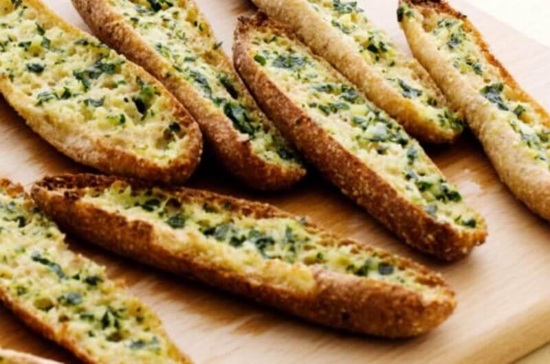 low carb garlic bread recipe