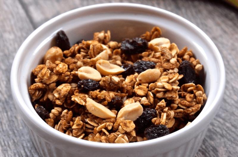 low fat peanut butter granola recipe