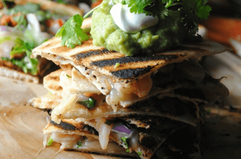 shrimp quesadilla recipe