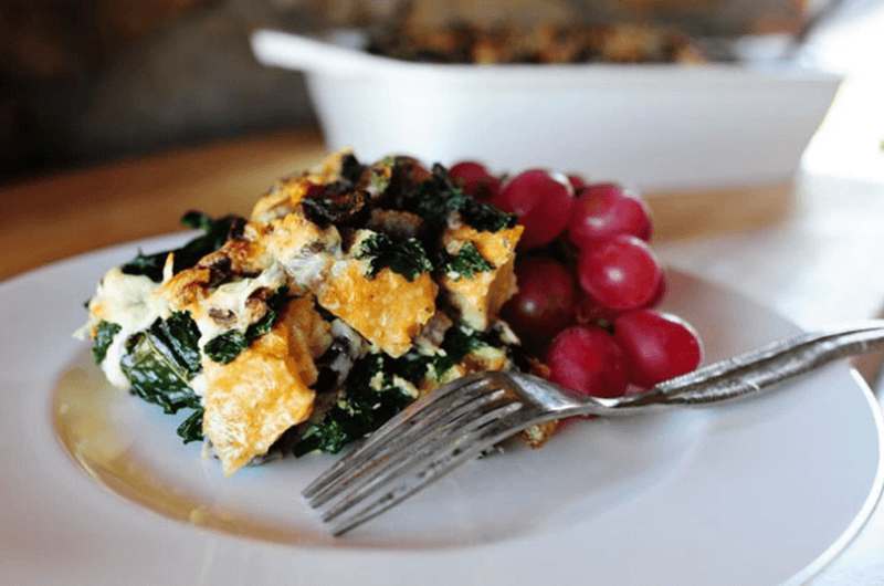 kale omelete post workout meal