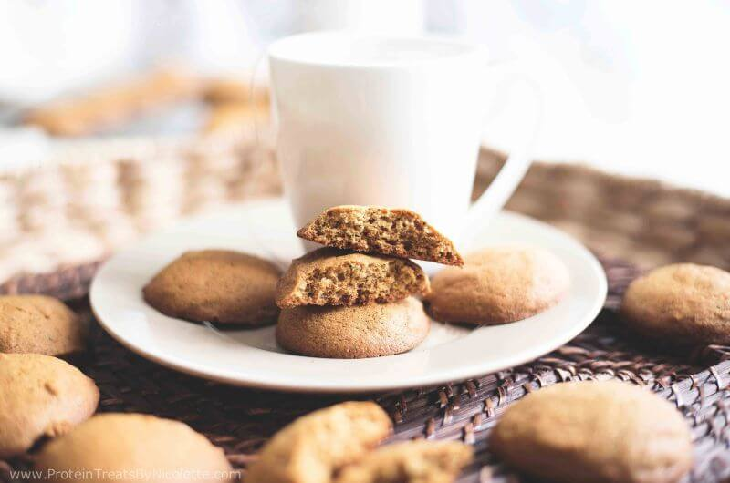 spiced chai tea healthy cookie
