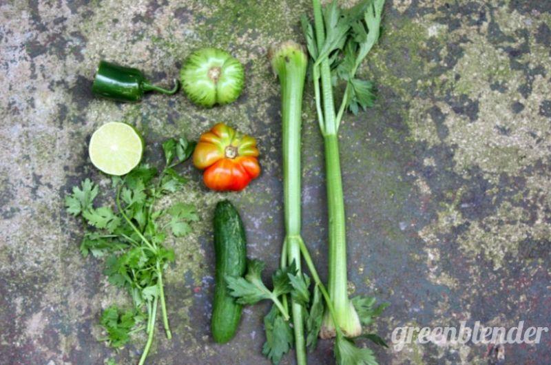 spicy vegetable smoothie recipe