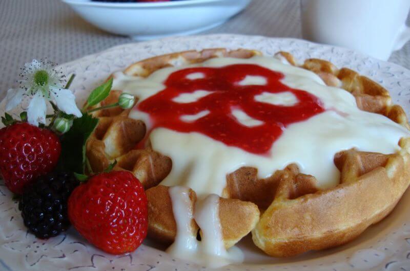 vanilla pudding protein waffle recipe