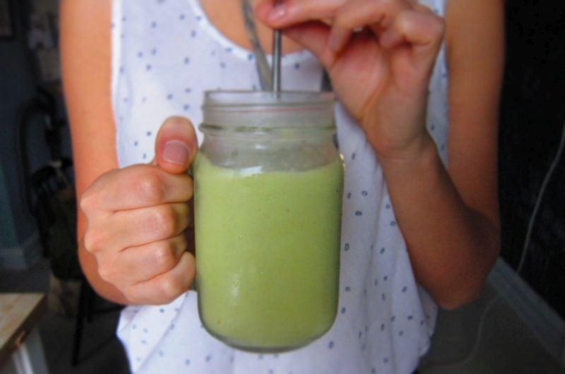 vegetable grape cucumber smoothie-recipe