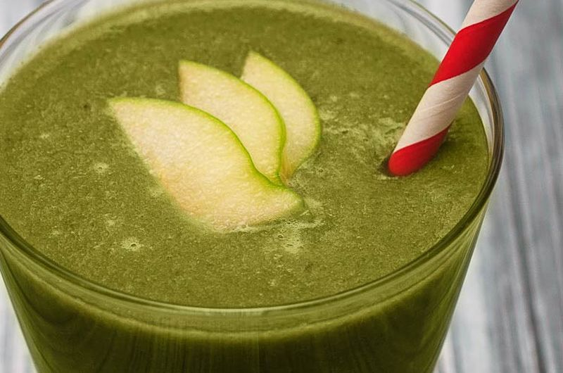 swiss chard green vegetable smoothie recipe
