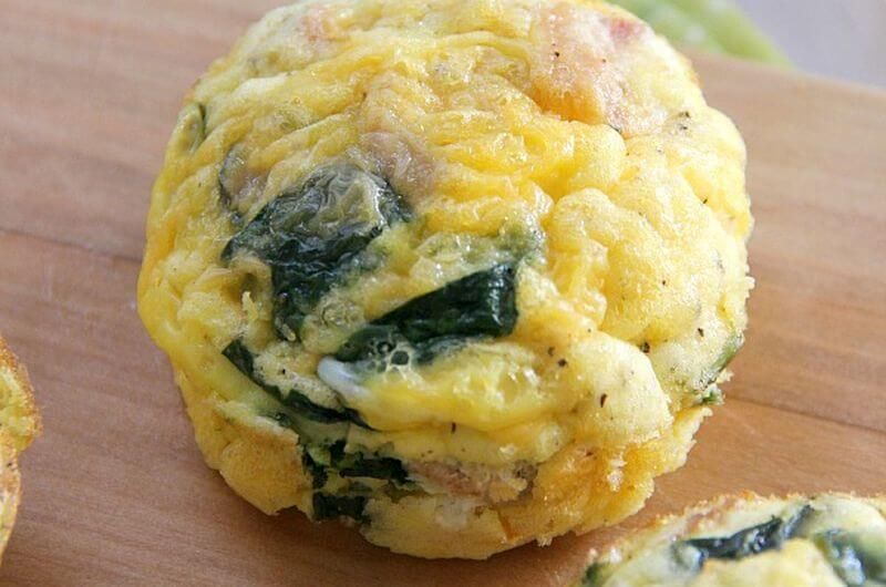 low carb egg muffins quick breakfast idea