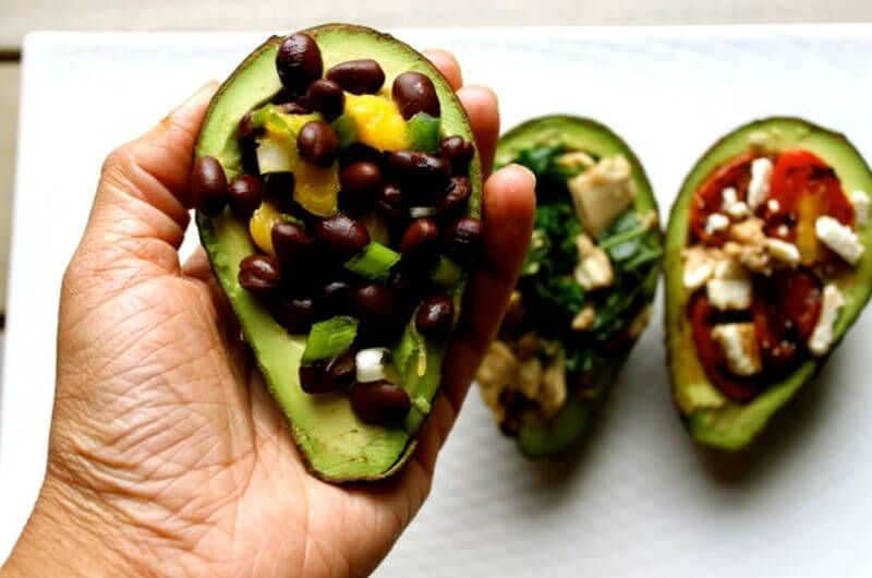 black bean mango quick avocado breakfast recipe