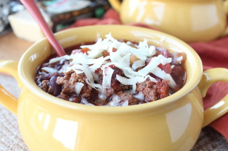 easy chili crock pot recipe