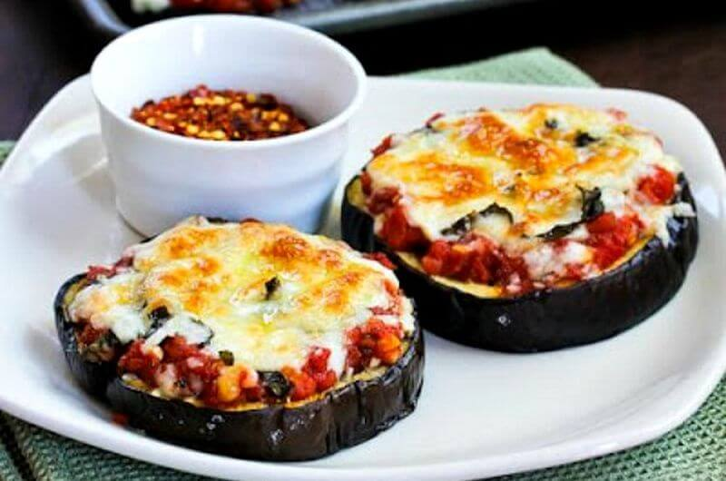 eggplant pizza easy quick meal