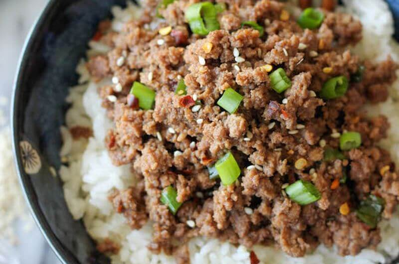 quick and easy korean beef bowl recipe