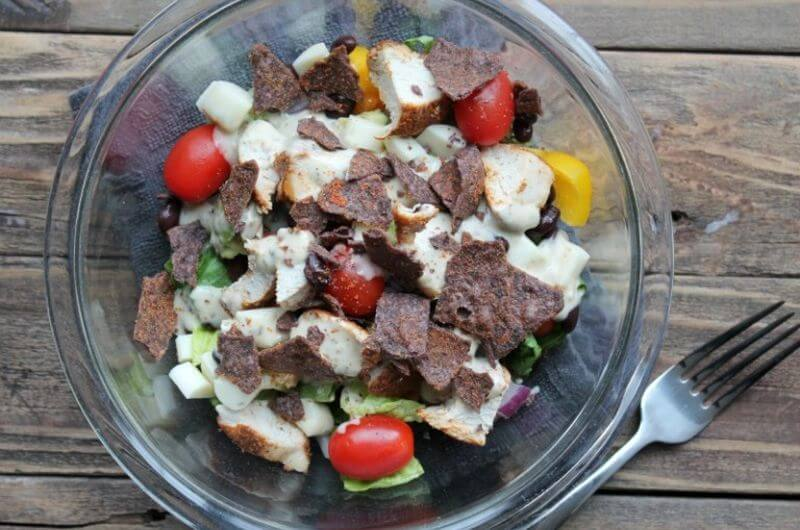 quick and easy-southwest chicken salad