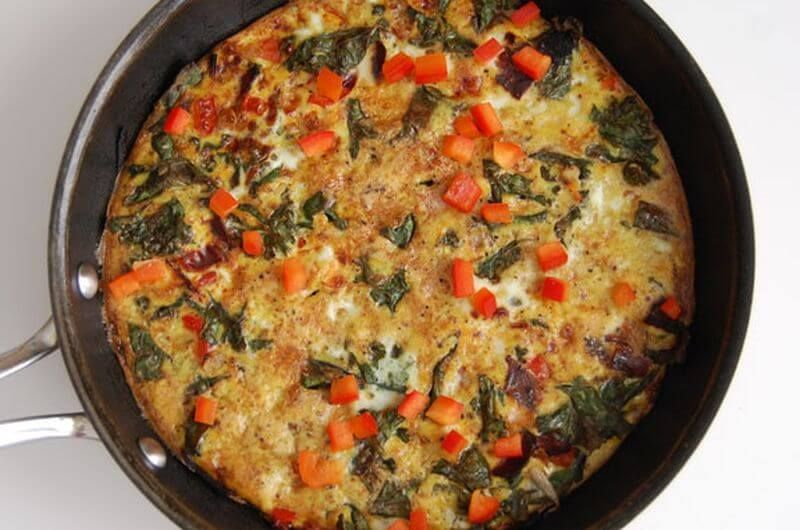quick frittata breakfast idea