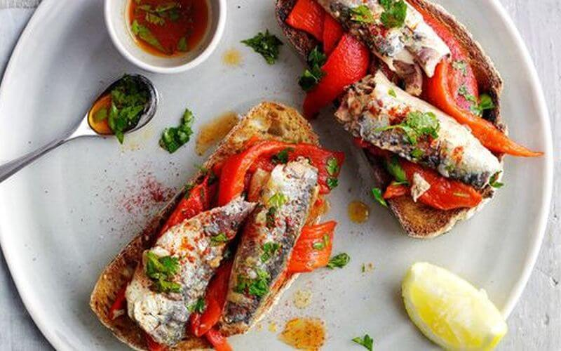 quick healthy sardines recipe