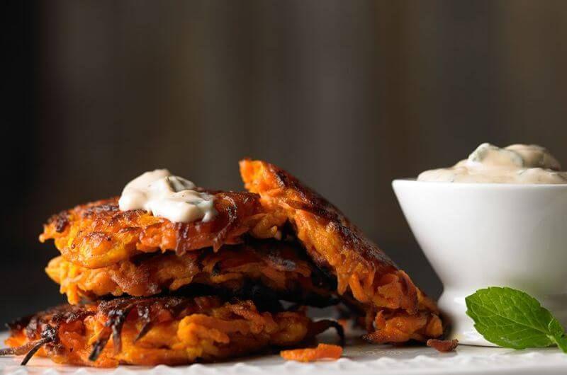 quick sweet potato breakfast idea
