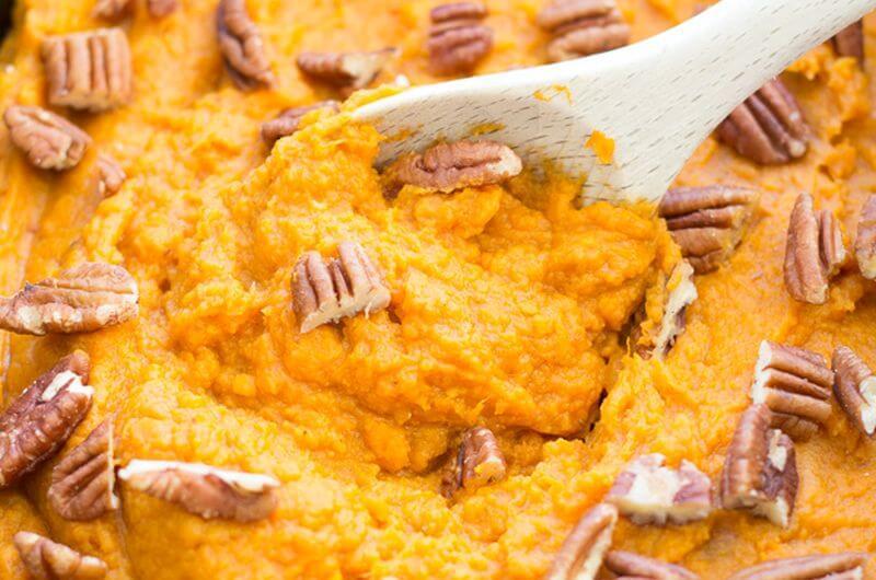 slow cooker sweet potato casserole recipe
