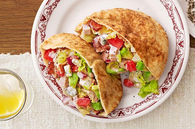 turkey cobb quick healthy sandwiches