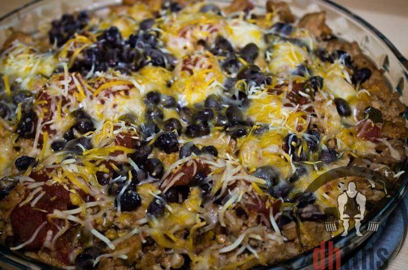 bodybuilding burrito pie recipe