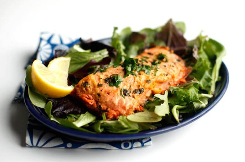microwave salmon recipe