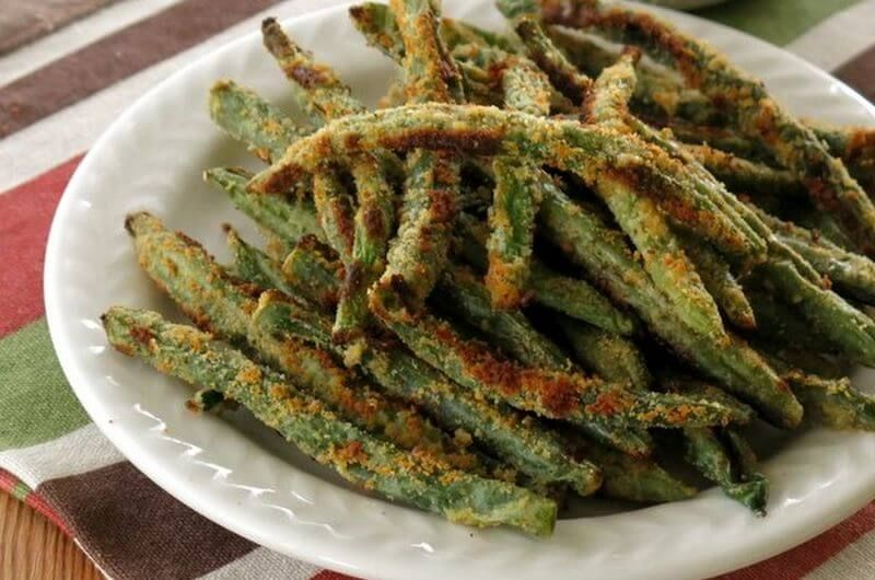 baked green bean fried recipes