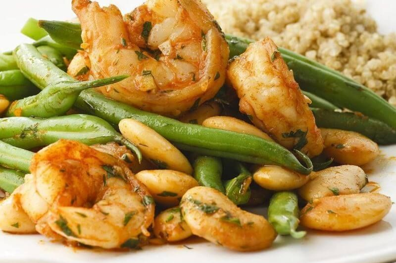 green beans and shrimp recipe