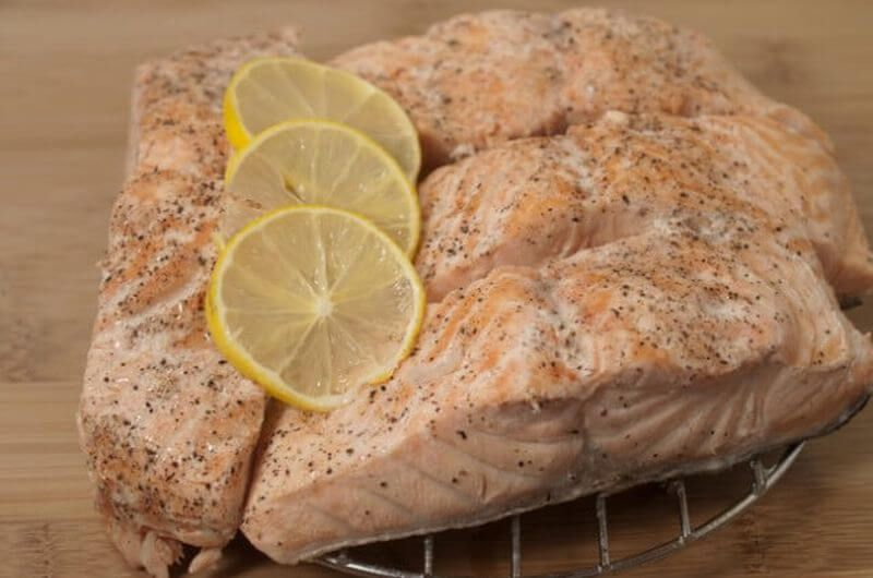 salmon dinner high protein
