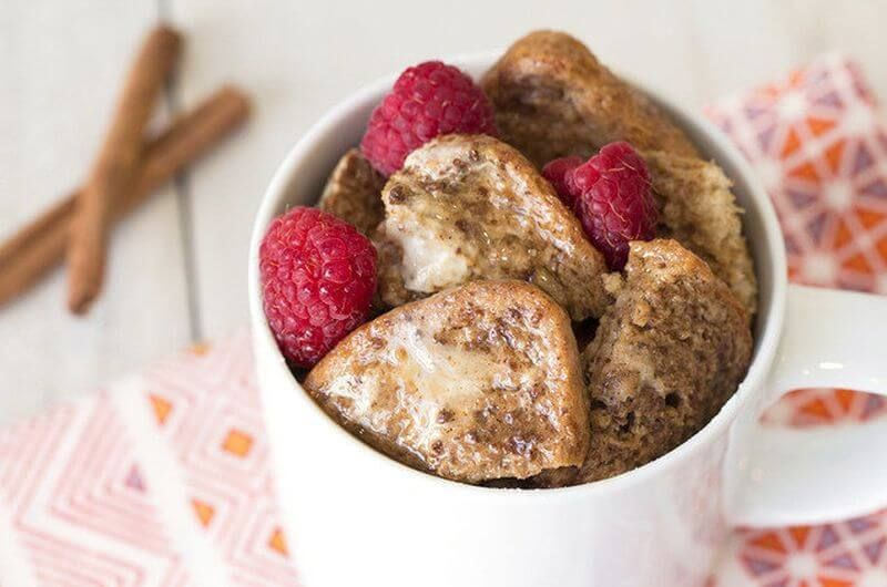 microwave french toast in a mug recipe