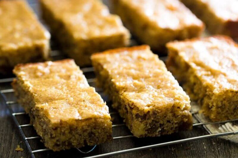 healthy cornbread protein bars