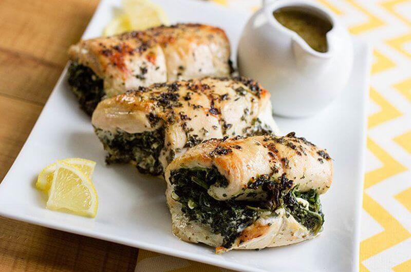 Feta Stuffed Chicken Dieting Recipe