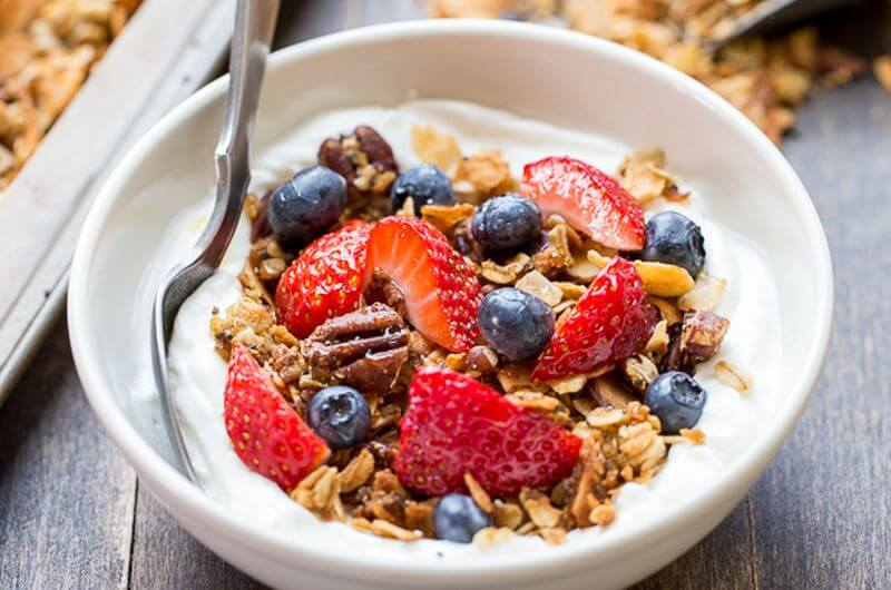 Gluten Free Protein Granola